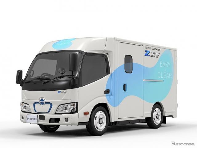 日野デュトロ Z(ズィー) EV《写真提供 日野自動車》