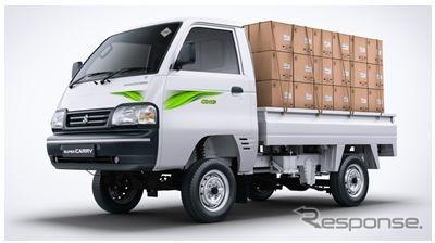 マルチスズキ・スーパーキャリイの天然ガス車「S-CNG」(インド仕様)《photo by Maruti Suzuki 》
