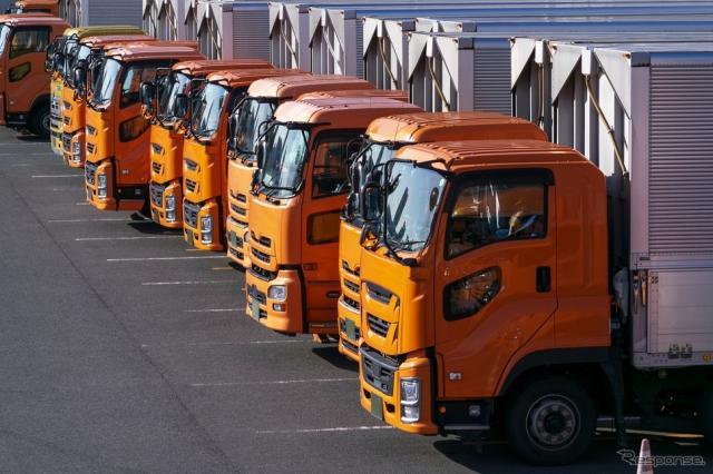 トラック(イメージ)《写真提供 写真AC》