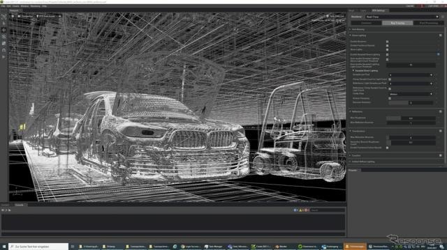 BMWグループが導入する仮想工場計画ツール《photo by BMW》