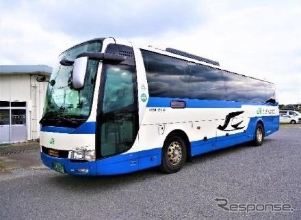 客貨混載するJRバス(イメージ)《写真提供 銚子電気鉄道》