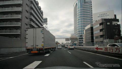 ZMP、首都高速走行データセットトライアル版発売へ…前方映像は高解像度4K