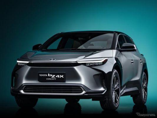 トヨタとスバルの共同開発EV『bZ4X』発表、2022年発売へ…上海モーターショー2021