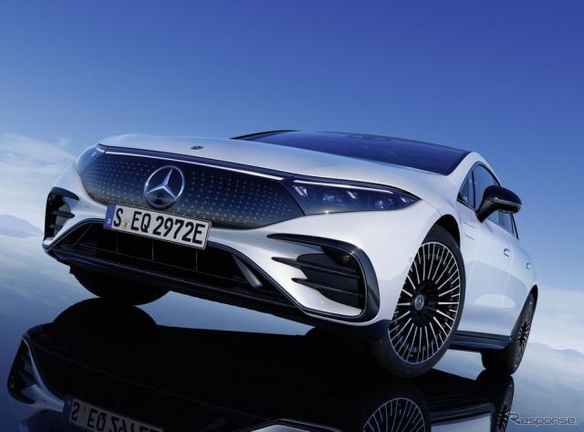 メルセデスベンツ EQS のAMGライン《photo by Mercedes-Benz》