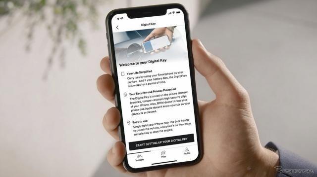 BMW車両用アプリがリニューアル、Google Mapsとの共有機能追加など…Android版も提供