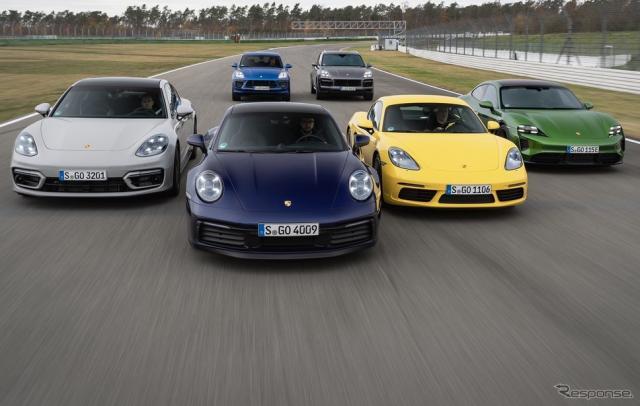ポルシェの主要モデル《photo by Porsche》