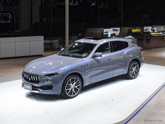 マセラティ・レヴァンテ・ハイブリッド(上海モーターショー2021)《photo by Maserati》