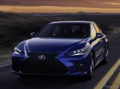 レクサス  ES 改良新型に「Fスポーツ」、ハンドリング性能を向上…上海モーターショー2021