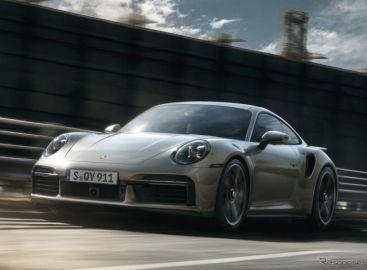 ポルシェ 911ターボ 新型、2021ワールドパフォーマンスカー賞に… GRヤリス を抑える