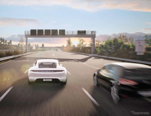 ポルシェの子会社のポルシェエンジニアリングがゲームエンジンを使用して自動運転などの先進運転支援システムを開発《photo by Porsche》