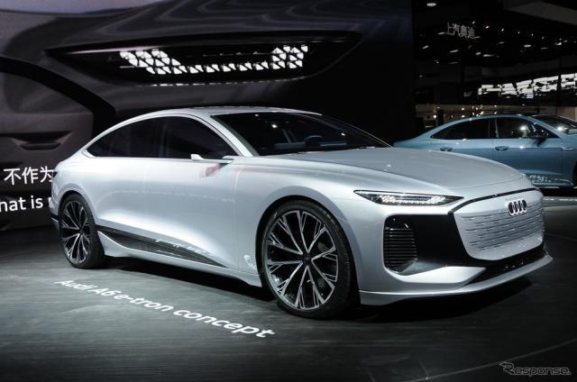 アウディ A6 e-tron コンセプト(上海モーターショー2021)《photo by Audi》