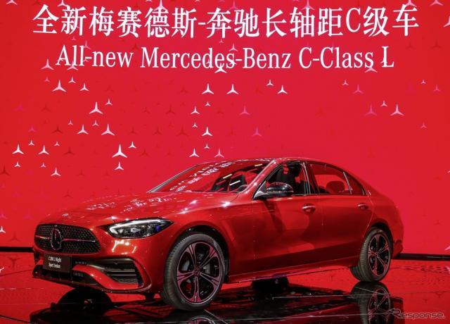 メルセデスベンツ Cクラス L 新型(上海モーターショー2021)《photo by Mercedes-Benz》