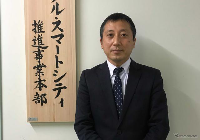 浜松市デジタル・スマートシティ推進事業本部 専門監の瀧本陽一氏