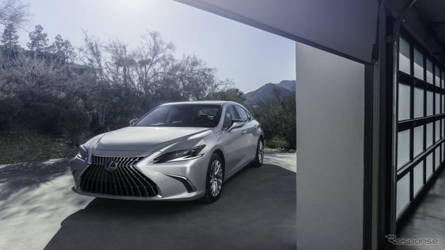 レクサス ES 改良新型、日本市場に2021年内登場…上海モーターショー2021