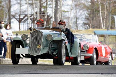 希少なクラシックカーが八ヶ岳山麓を駆けた…コッパディ小海2021