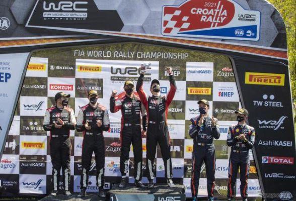 【WRC 第3戦】トヨタ1-2、最終ステージの逆転でオジェが今季2勝目…勝田はステージウインを2回記録して3戦連続6位
