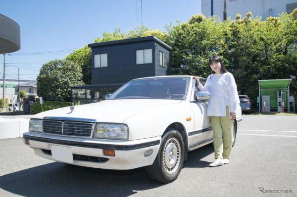 伊藤かずえの愛車『シーマ』、オーテックに入庫…レストア始まる