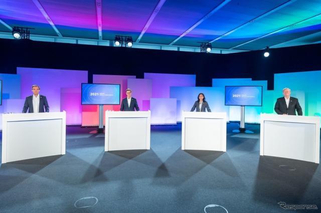 ボッシュの2020年通期決算発表会《photo by Bosch》