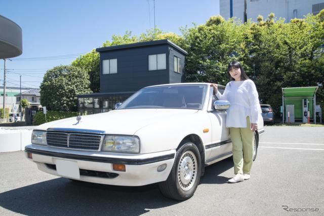 伊藤かずえの愛車シーマ、レストアでオーテックに入庫《写真提供 日産自動車》
