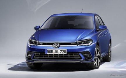 VW ポロ 改良新型に「Rライン」、5月に先行予約受注を欧州で開始