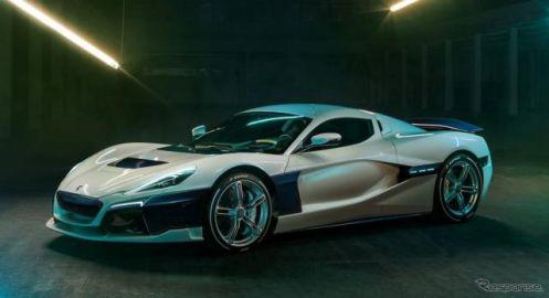 リマックのEVハイパーカー、『C_Two』が加速テスト…量産車世界最速なるか