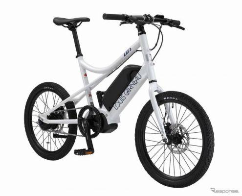ルイガノがミニベロのeバイクを発売へ---シマノ電子変速システムを搭載、価格は27万2800円