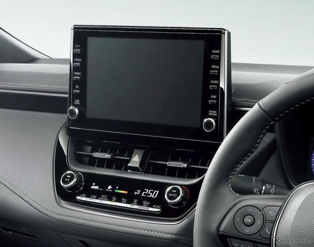 新型カローラのコネクテッド機能(参考画像)《写真 トヨタ自動車》
