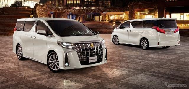 トヨタ アルファード、ゴールデンな特別仕様車発売へ…ヴェルファイアは1グレードのみに