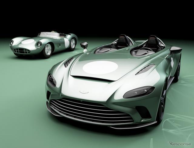 アストンマーティン DBR1 と V12 スピードスター「DBR1」仕様《photo by Aston Martin》