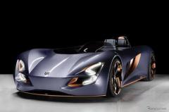 スズキ、オープンスポーツEV『ミサノ』提案…四輪車と二輪車を融合