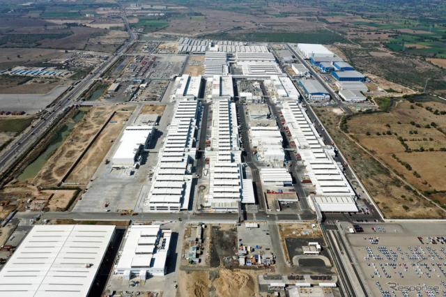 スズキのインド、グジャラート工場《写真提供 スズキ》
