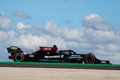【F1 ポルトガルGP】フリー走行2回目はハミルトンがトップタイム…フェルスタッペンが2番手