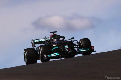 【F1 ポルトガルGP】ハミルトンが自身97勝目を記録…レッドブル・ホンダのフェルスタッペンが2位