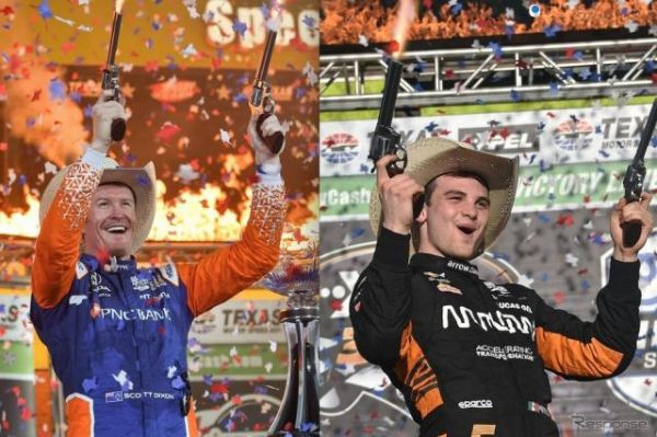 【INDYCAR 第3&4戦】テキサス・ダブルヘッダーで王者ディクソン51勝目、新鋭オワード初優勝…琢磨は9位と14位