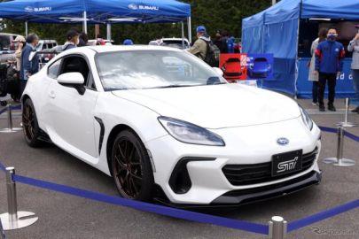 スバル BRZ STIパーツ装着車が登場…SUPER GT第2戦のサプライズ!