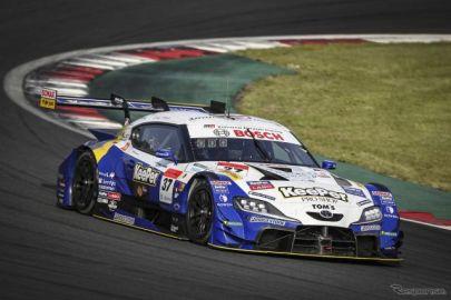 【SUPER GT 第2戦】11番手スタートから追い上げた#17 Astemo NSX-GT(塚越広大/ベルトラン・バゲット)が優勝