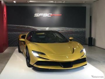 【フェラーリ SF90スパイダー】リトラクタブル・ハードトップは開閉14秒[詳細写真]