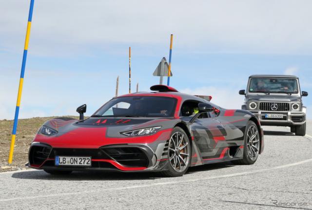 メルセデス AMG One 市販型プロトタイプ(スクープ写真)《APOLLO NEWS SERVICE》