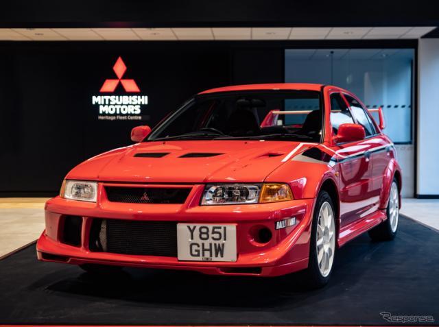 三菱ランサーエボリューションVIトミマキネン《photo by Mitsubishi Motors》