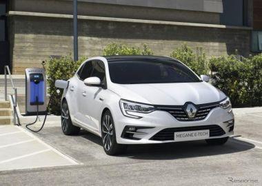 ルノー メガーヌ 改良新型、ハッチバックのPHVは燃費83.3km/リットル…受注を欧州で開始