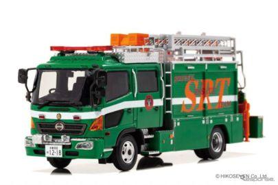 警視庁機動救助車「日野レンジャー」、1/43スケールで再現…500台限定で予約開始