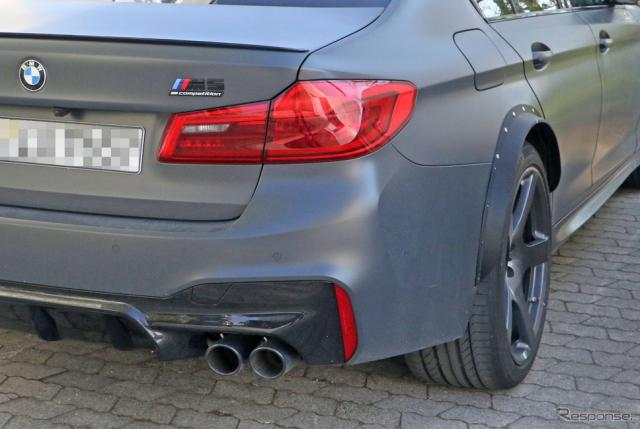 BMW M5 謎のプロトタイプ車両(スクープ写真)《APOLLO NEWS SERVICE》