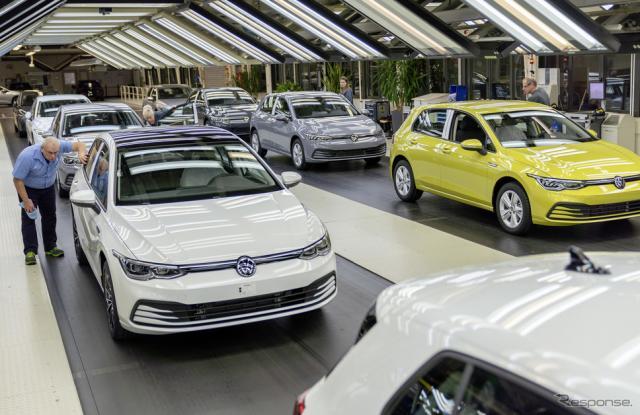 ウォルフスブルク工場《photo by VW》