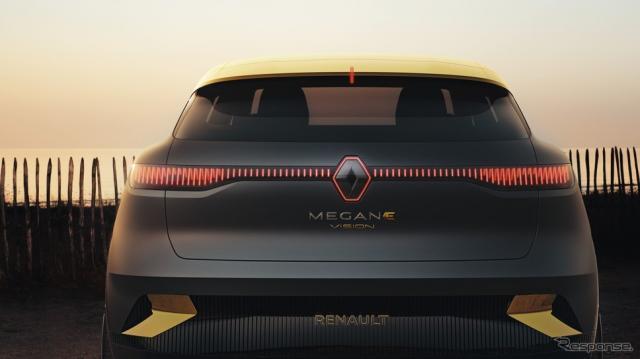 ルノー・メガーヌ eビジョン《photo by Renault》