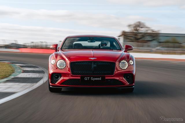 ベントレー・コンチネンタル GT スピード 新型《photo by Bentley》