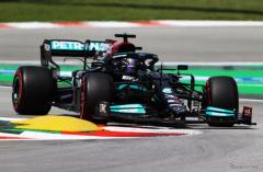 【F1 スペインGP】初日はハミルトンがトップでメルセデスのワンツー…角田裕毅が7番手