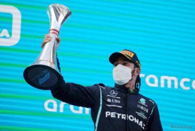 【F1 スペインGP】ハミルトンが今季3勝目を記録…レッドブル・ホンダのフェルスタッペンが2位
