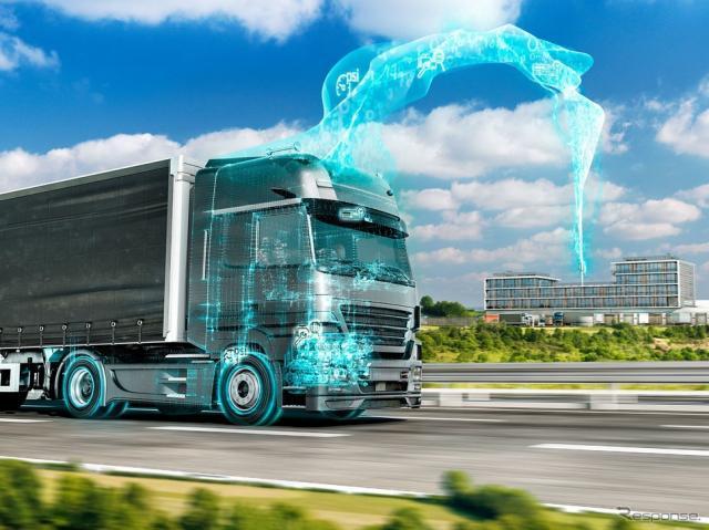 コンチネンタルの5G V2Xテレマティクスシステム《photo by Continental》