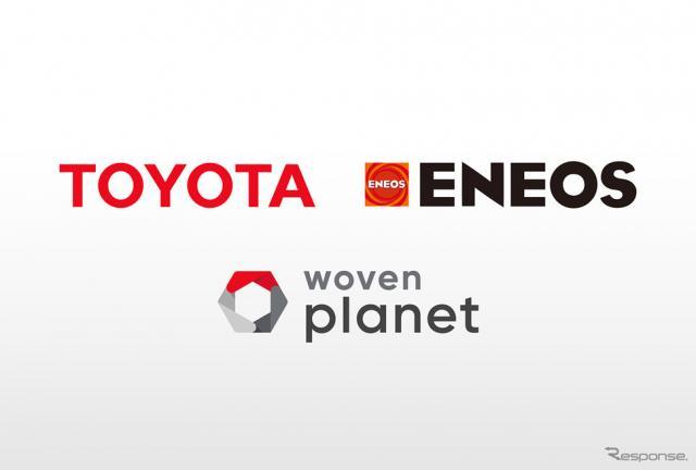ENEOS/トヨタ/ウーブン・プラネット《写真提供 トヨタ自動車》