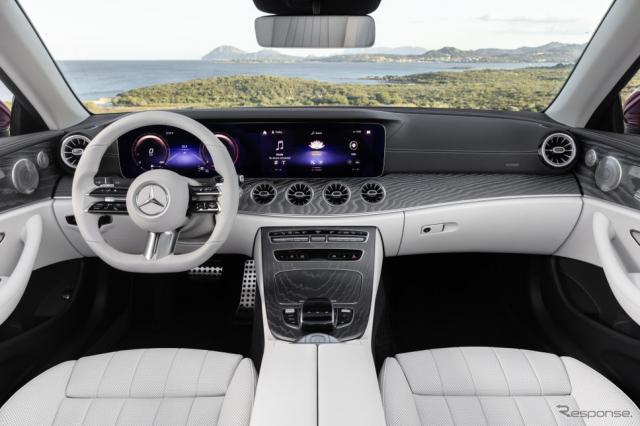 メルセデスベンツEクラス・カブリオレ《photo by Daimler》
